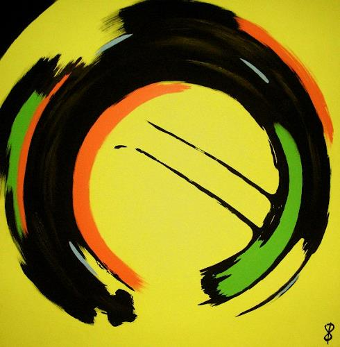 Detlev Eilhardt, Vegaz II, Abstraktes, Spiel, Art Déco