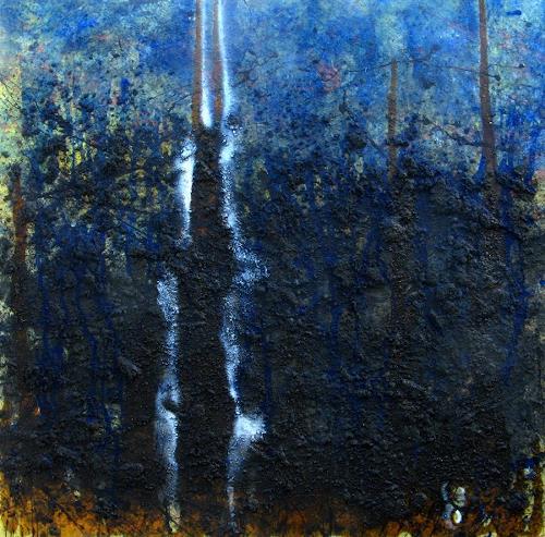 Detlev Eilhardt, Stiermann, Abstraktes, Geschichte, Abstrakter Expressionismus