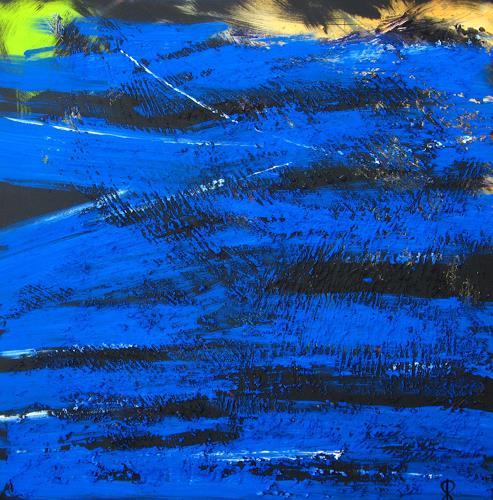 Detlev Eilhardt, MONUMENT III, Abstraktes, Dekoratives, Informel, Expressionismus