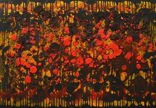 Detlev Eilhardt, Herbstwald, Abstraktes, Diverses, Abstrakter Expressionismus, Expressionismus