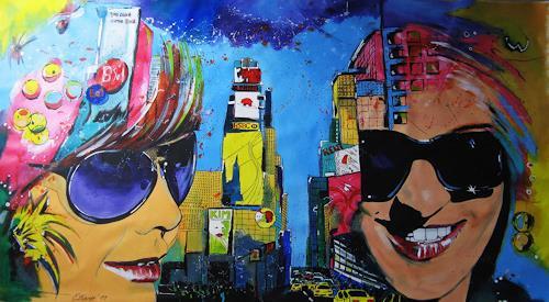 Detlev Eilhardt, Live, Menschen: Gesichter, Dekoratives, Pop-Art