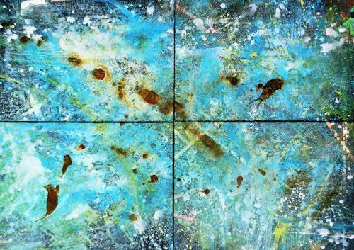 Detlev Eilhardt, ICE, Abstraktes, Zeiten: Zukunft, Abstrakter Expressionismus