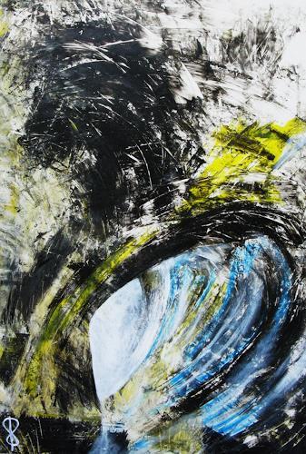 Detlev Eilhardt, Ist, Abstraktes, Symbol, Abstrakter Expressionismus
