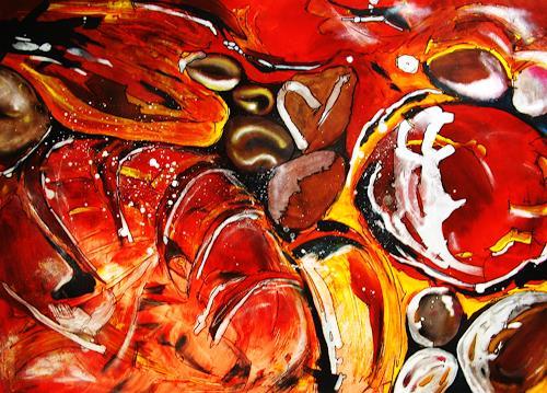 Detlev Eilhardt, Süß, Abstraktes, Essen, expressiver Realismus