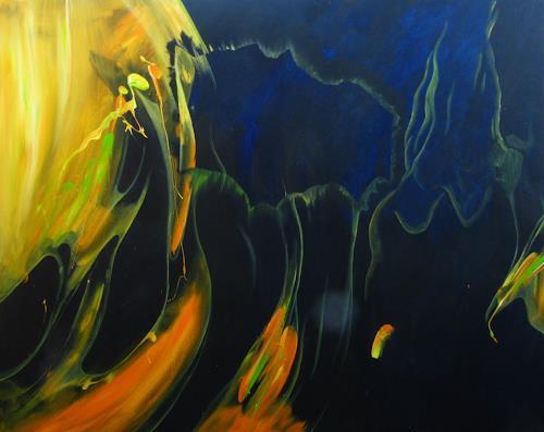 Detlev Eilhardt, Medusa, Tiere: Wasser, Poesie, Naturalismus, Expressionismus