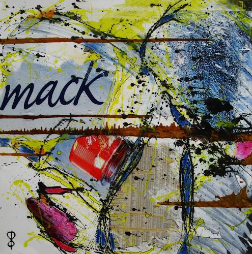 Detlev Eilhardt, Mack, Markt, Abstraktes, Pop-Art