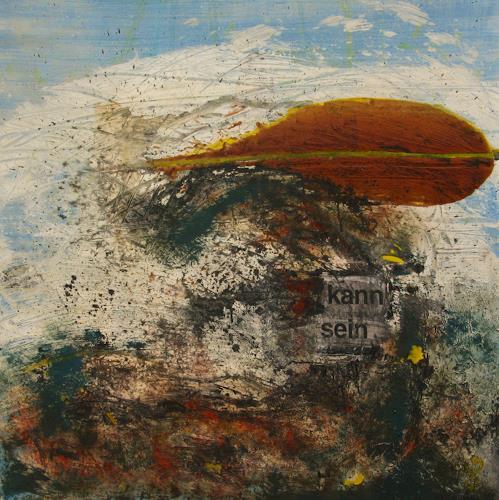 Detlev Eilhardt, ... kann sein, Abstraktes, Fantasie, Abstrakter Expressionismus, Expressionismus