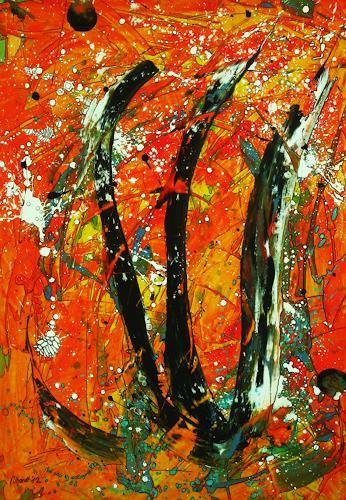 Detlev Eilhardt, Die Dreifaltigkeit, Glauben, Abstraktes, Abstrakter Expressionismus, Expressionismus
