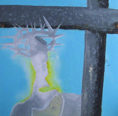 Detlev Eilhardt, Weg der Hoffnung, Glauben, Symbol, Symbolismus, Abstrakter Expressionismus