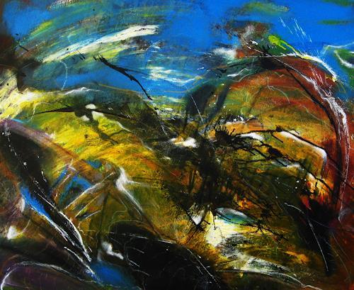Detlev Eilhardt, Das Kinem, Abstraktes, Fantasie, Abstrakter Expressionismus