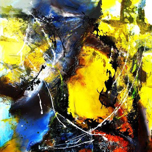 Detlev Eilhardt, 78 Tage, Abstraktes, Religion, Abstrakter Expressionismus