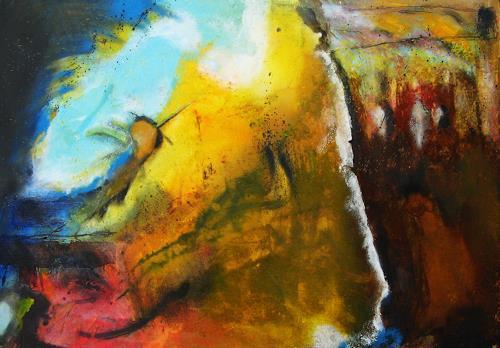 Detlev Eilhardt, Langage, Abstraktes, Gefühle: Geborgenheit, Abstrakter Expressionismus