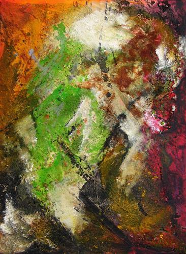 Detlev Eilhardt, Progenie, Abstraktes, Dekoratives, Abstrakter Expressionismus