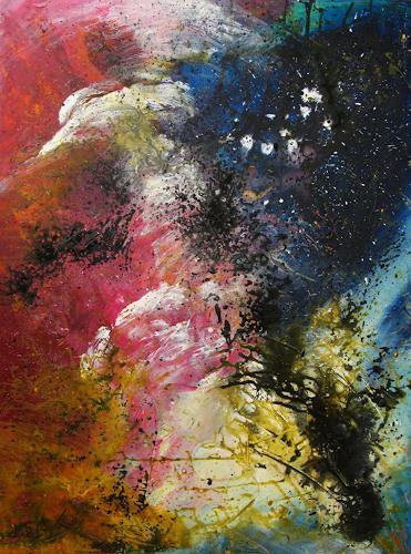 Detlev Eilhardt, Die Umwälzung, Abstraktes, Glauben, Abstrakter Expressionismus