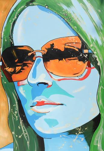 Detlev Eilhardt, Was kommt, Menschen: Frau, Menschen: Porträt, Pop-Art, Expressionismus