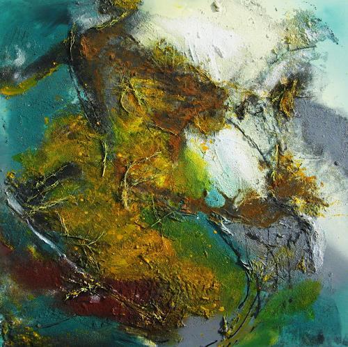 Detlev Eilhardt, Seilschaften, Abstraktes, Fantasie, Abstrakter Expressionismus, Expressionismus