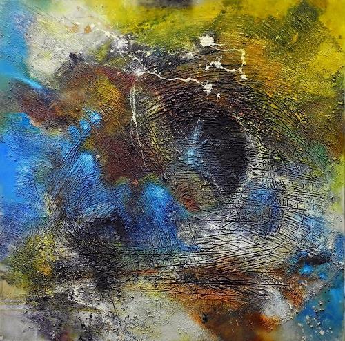 Detlev Eilhardt, Fusion, Abstraktes, Diverse Gefühle, Abstrakter Expressionismus