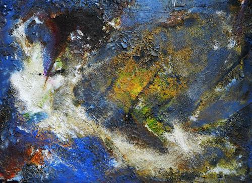 Detlev Eilhardt, Randgebiet, Abstraktes, Diverse Landschaften, Abstrakter Expressionismus