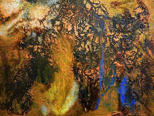 Detlev Eilhardt, rebellious taming, Abstraktes, Glauben, Abstrakter Expressionismus