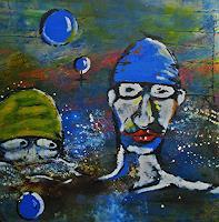 Detlev-Eilhardt-1-Situationen-Menschen-Gesichter-Moderne-Expressionismus-Abstrakter-Expressionismus