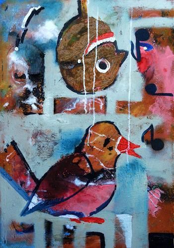 Detlev Eilhardt, Notenspiegel, Diverse Musik, Symbol, Neo-Expressionismus, Abstrakter Expressionismus