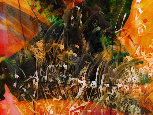 Detlev Eilhardt, Taumel, Fantasie, Gefühle: Freude, Pop-Art, Abstrakter Expressionismus