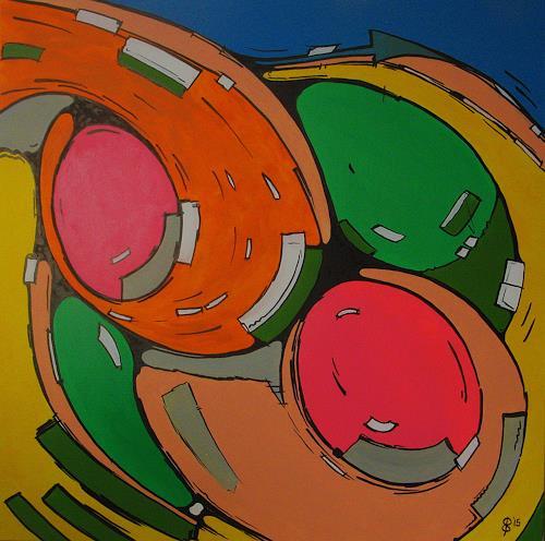 Detlev Eilhardt, Freidrehen, Bewegung, Symbol, Expressionismus