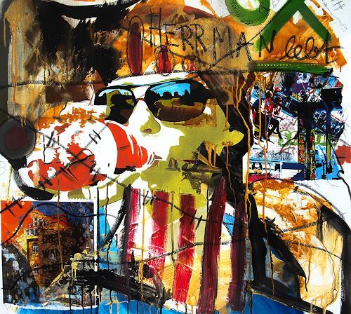 Detlev Eilhardt, Durst, Menschen: Frau, Symbol, Pop-Art, Abstrakter Expressionismus