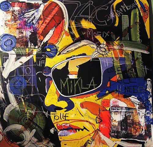 Detlev Eilhardt, Städtereisen, Menschen: Frau, Dekoratives, Pop-Art