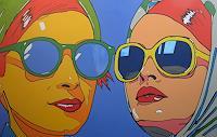 Detlev-Eilhardt-1-Menschen-Frau-Menschen-Gesichter-Moderne-Pop-Art