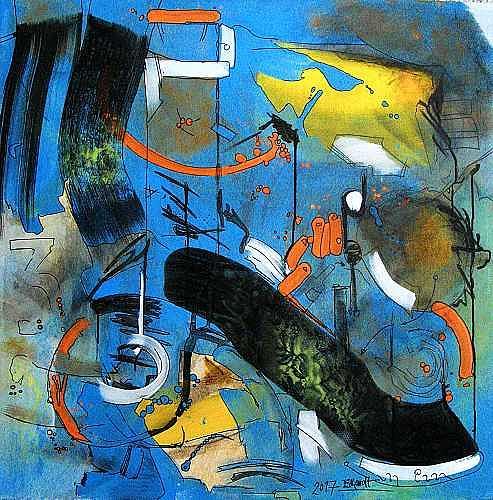 Detlev Eilhardt, Das kann uns keiner nehmen, Fantasie, Abstraktes, Abstrakter Expressionismus