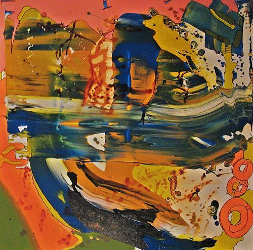 Detlev Eilhardt, Mindblow, Abstraktes, Fantasie, Abstrakter Expressionismus