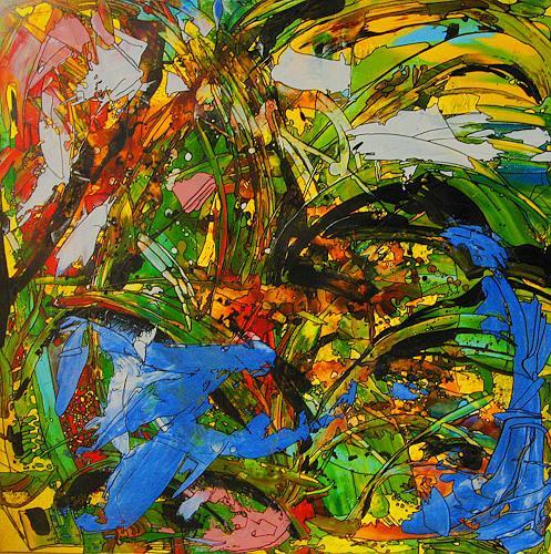 Detlev Eilhardt, MOVE, Natur: Diverse, Bewegung, Abstrakter Expressionismus