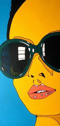 Detlev Eilhardt, AT WILL II, Menschen: Porträt, Menschen: Frau, Pop-Art
