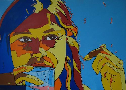 Detlev Eilhardt, COOL, Menschen: Porträt, Menschen: Frau, Pop-Art