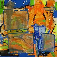 Detlev-Eilhardt-1-Diverse-Landschaften-Menschen-Frau-Moderne-Pop-Art
