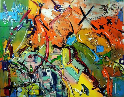 Detlev Eilhardt, 7YEARS, Abstraktes, Fantasie, Neo-Expressionismus, Abstrakter Expressionismus
