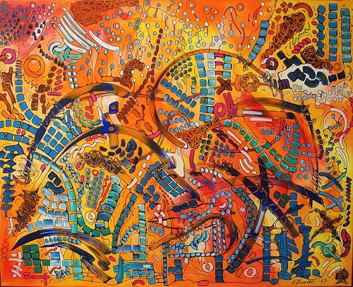 Detlev Eilhardt, Playground, Gefühle: Liebe, Religion, Pop-Art, Expressionismus