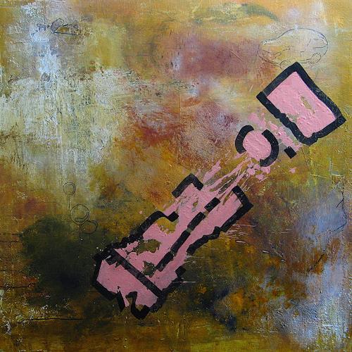 Detlev Eilhardt, Pendel, Abstraktes, Symbol, Abstrakter Expressionismus
