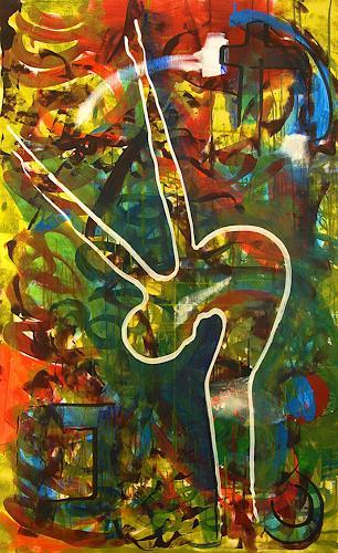 Detlev Eilhardt, Dispersibility, Menschen: Frau, Abstraktes, Pop-Art, Expressionismus