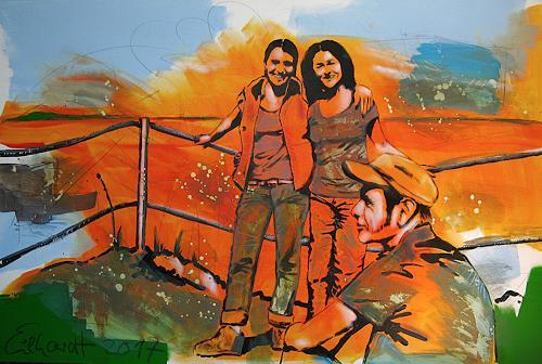 Detlev Eilhardt, SUMMITEER (Gipfelstürmer), Menschen: Gruppe, Freizeit, Pop-Art