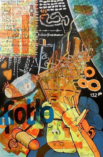 Detlev Eilhardt, molto satellite, Fantasie, Skurril, expressiver Realismus