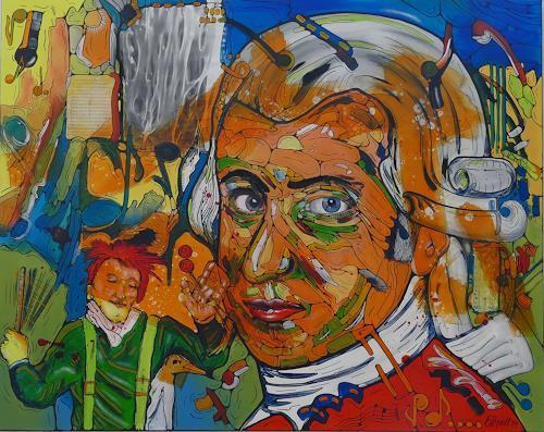 Detlev Eilhardt, alle moltogro, Skurril, Skurril, expressiver Realismus, Abstrakter Expressionismus