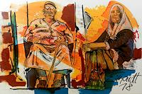 Detlev-Eilhardt-1-Diverse-Menschen-Gesellschaft-Moderne-Expressionismus-Neo-Expressionismus