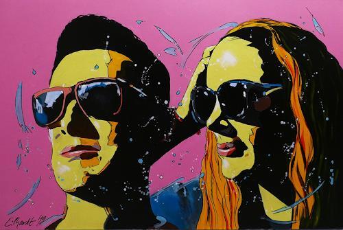 Detlev Eilhardt, T&I, Menschen: Gesichter, Menschen: Porträt, Pop-Art, Abstrakter Expressionismus