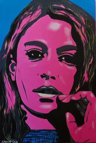 Detlev Eilhardt, DIMPLE, Menschen: Frau, Menschen: Porträt, Pop-Art