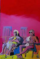Detlev-Eilhardt-1-Menschen-Paare-Freizeit-Moderne-expressiver-Realismus