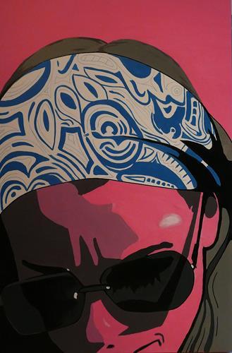 Detlev Eilhardt, Muse II, Menschen: Frau, Menschen: Gesichter, Pop-Art, Expressionismus