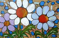 Detlev-Eilhardt-1-Pflanzen-Blumen-Landschaft-Fruehling-Moderne-Pop-Art