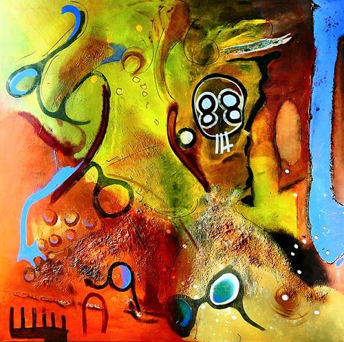 Detlev Eilhardt, plastic beat, Abstraktes, Poesie, Abstrakter Expressionismus